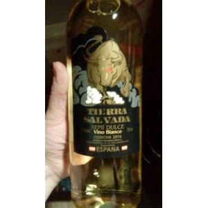 Вино белое столовое полусладкое Semi Dulce Vino Blanco Espana Tierra Salvada фото