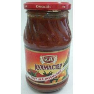 Соус томатный Кухмастер Соус краснодарский фото