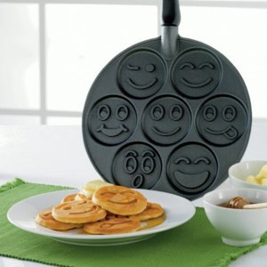 "Сковорода блинная Nordic Ware ""Смайлики"" made in USA (Smiley Face Pancake Pan) фото"