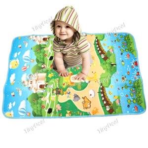 Детский коврик Tinydeal для пикника Children's Park Patterned Baby Crawl Mat Outdoor Picnic Camping Mat фото