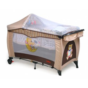 Манеж-кровать Baby Prestige Delux  фото
