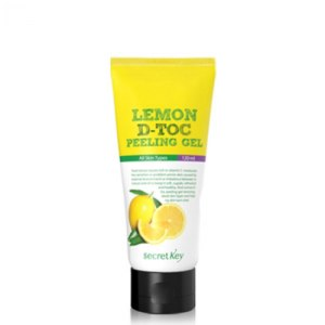 Пилинг-скатка для лица Secret Key Lemon D-Toc peeling gel  фото
