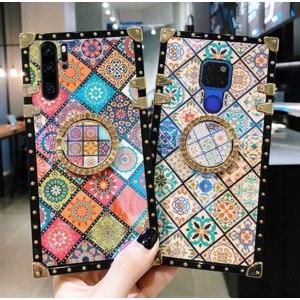 Чехол для мобильного телефона Aliexpress Luxury Instagram Case For Samsung Galaxy A91 A81 A71 A51 Square Back Cover A70 A50 A30 M30 M30S M20 M10 Funda Shockproof Coque фото