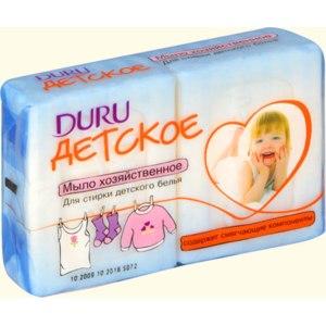 Мыло хозяйственное Duru для стирки детского белья фото