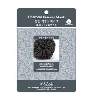 Тканевая маска для лица MJ Care Charcoal Essence Mask Древесный уголь фото