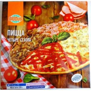 Пицца Globus Четыре сезона фото