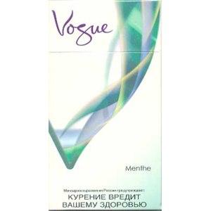Сигареты vogue с ментолом купить в москве зажигалка портсигар автоматическая подача сигарет купить