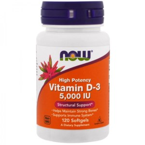 Витамины Now Foods Vitamin D-3 5,000 IU фото