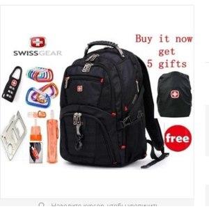 Рюкзак Aliexpress Swiss army knife Swisswin laptop backpack laptop bag man  фото