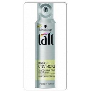 Мусс для волос Taft  Спрей-мусс.Выбор стилистов. фото