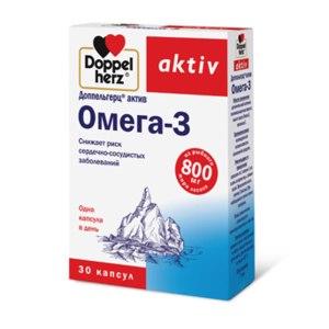БАД Doppelherz aktiv (Доппельгерц актив) Омега - 3 фото