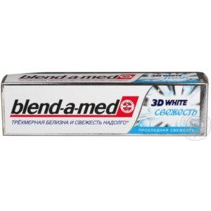 Зубная паста Blend-a-Med 3D White Прохладная свежесть фото