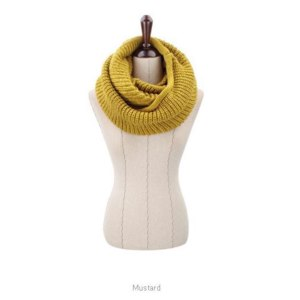 Шарф Aliexpress fashion style Unisex Winter knitting Wool Collar Neck Warmer woman Ring Scarf Shawl фото