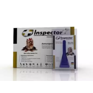 Противопаразитарные средства Inspector Total C Для собак от 1 до 4 кг фото