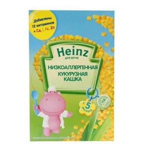 Каша Heinz низкоаллергенная кукурузная фото