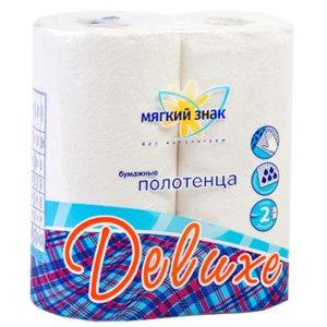 Бумажные полотенца Мягкий знак без макулатуры фото
