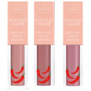Жидкая матовая помада Wibo #Wibomood Spicy Lips Matte Edition фото