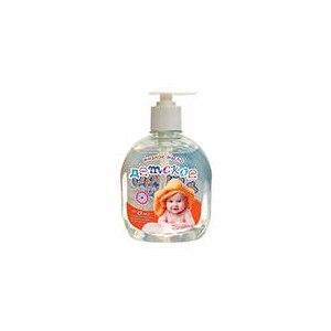 Детское жидкое мыло  Страна Сказок Детское с персиковым маслом, экстрактом шалфея, витаминами А и Е фото
