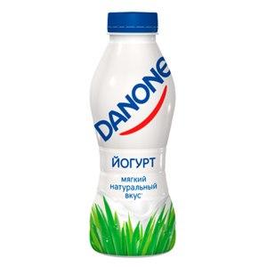 Йогурт питьевой Danone с массовой долей жира 2,5% фото