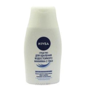 Средство для удаления водостойкого макияжа с глаз NIVEA для чувствительной кожи фото