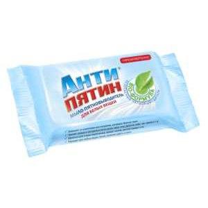 Мыло - Пятновыводитель Антипятин для белых вещей фото
