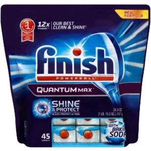 Таблетки для посудомоечной машины Finish  Powerball Quantum max Shine and Protect фото