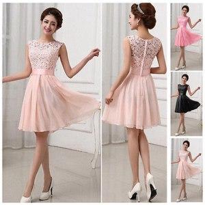 Платье AliExpress Women Sexy Lace Chiffon Dresses Formal OL Working Elegant Dress Vestidos фото