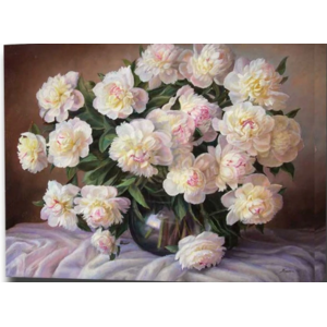 Картина по номерам Aliexpress BAISITE DIY Framed Oil Painting By Numbers Flowers Pictures Canvas Painting For Living Room Wall Art Home Decor E809 фото