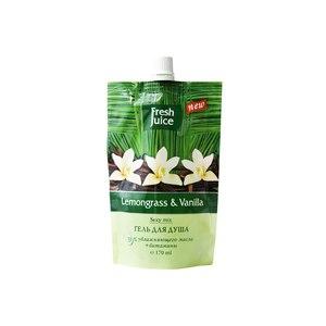 Крем-гель для душа Fresh Juice Lemongrass & Vanilla Sexy Mix фото