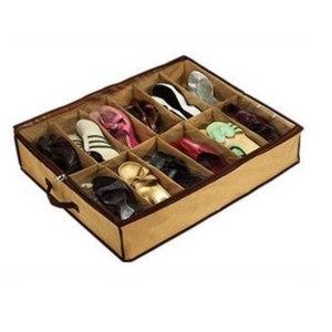 Коробка для хранения обуви Free shipping,Large transparent water sports non-woven storage box/ shoe box As see on TV storage case,drop shipping,E127 фото