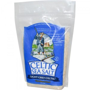 Морская соль Celtic Sea Salt Light Grey Celtic, Vital Mineral Blend (Светло-серая кельтская соль) фото