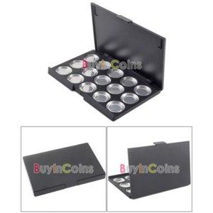 Палетка для теней Buyincoins Empty Eyeshadow Aluminum Pans with Palette фото