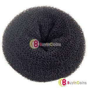 Бублик для волос Buyincoins ( Валик для пучка)  New Bun Former Donut Maker Hair Styling Tool Soft Band фото