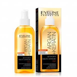 Масло для волос Eveline Аргановое масло-эликсир 8 в 1 фото