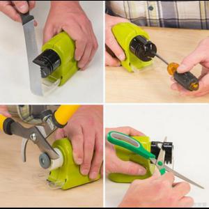 Электроточилка д/ножей Aliexpress Professional Electric Ceramic Knife Sharpener Sharpening Stone Kitchen Tool Ideal for knives precision scissors& household tools фото