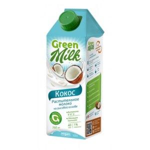 """Green milk Молоко растительного происхождения """"Кокос"""" фото"""