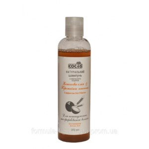 Шампунь COCOS Из мыльного корня для повреждённых и окрашенных волос фото