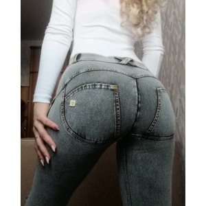 Брюки Freddy WR.UP® Denim Effect - Super Skinny - Средняя талия - J3Y  фото