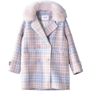 Пальто AliExpress Mishow 2020 Women Coat outerwear winter clothing fashion warm woolen blends female elegant Double Breasted woolen coat MX18D9679 фото