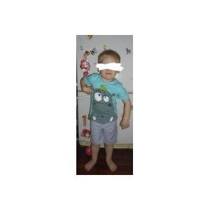 Комплект (футболка и штанишки) AliExpress 2014 New Boys Summer Clothing Sets Baby Boys Casual Clothing Set Kid Apparel T-shirt+Pant Kids Apparel фото