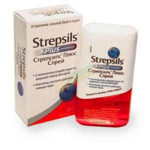 Антисептическое средство Стрепсилс Плюс Спрей фото