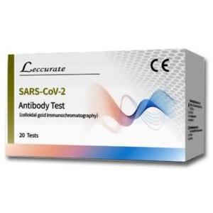 Экспресс тест Lepu medical technology На определение антител SARS-COV-2 фото