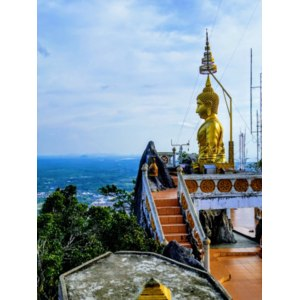 Храм Тигра (Tiger Cave Temple) в Краби - южной провинции Таиланда  фото