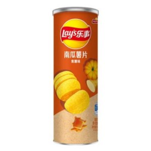Чипсы Lays stax из картошки и тыквы со вкусом карамели фото