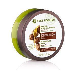 Маска для волос Ив Роше / Yves Rocher Экспресс-Маска для Восстановления с Жожоба и Каритэ фото