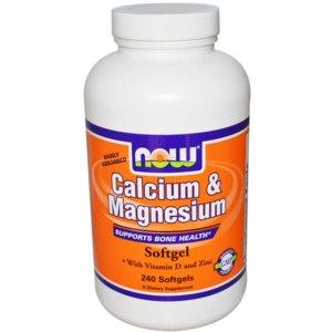 БАД Now Foods Calcium & Magnesium фото