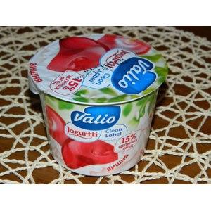 Йогурт Valio Clean Label с вишней фото