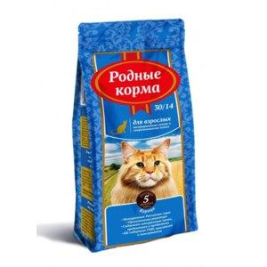 """Корм для кошек Родные Корма """"Для кастрированных котов и стерилизованных кошек"""" фото"""
