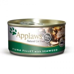 Консервы для кошек Applaws с филе тунца и морской капустой фото