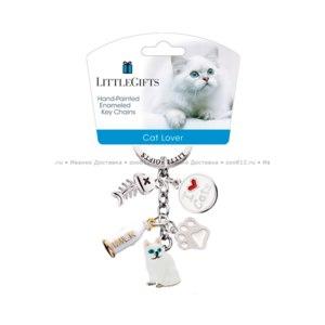 """Брелок Little Gifts """"Кошка сидящая""""  фото"""